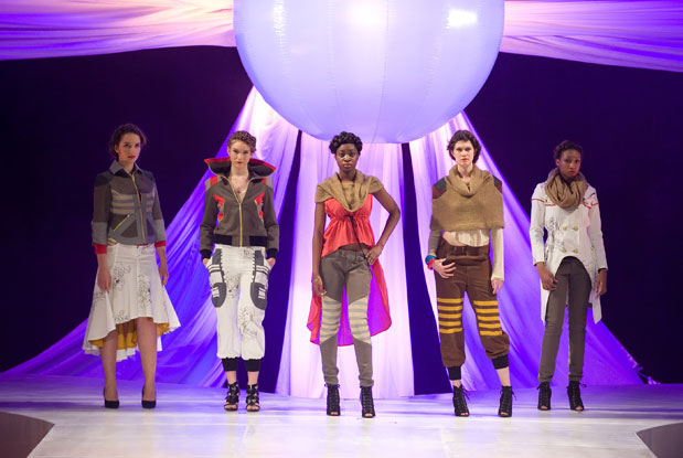 Edgy Looks Hit The Runway At Ryerson S Mass Exodus Young Designers Show Trnto Com
