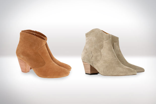 Isabel Marant's iconic Dicker boots