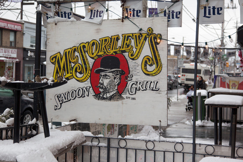 McSorley's closing down