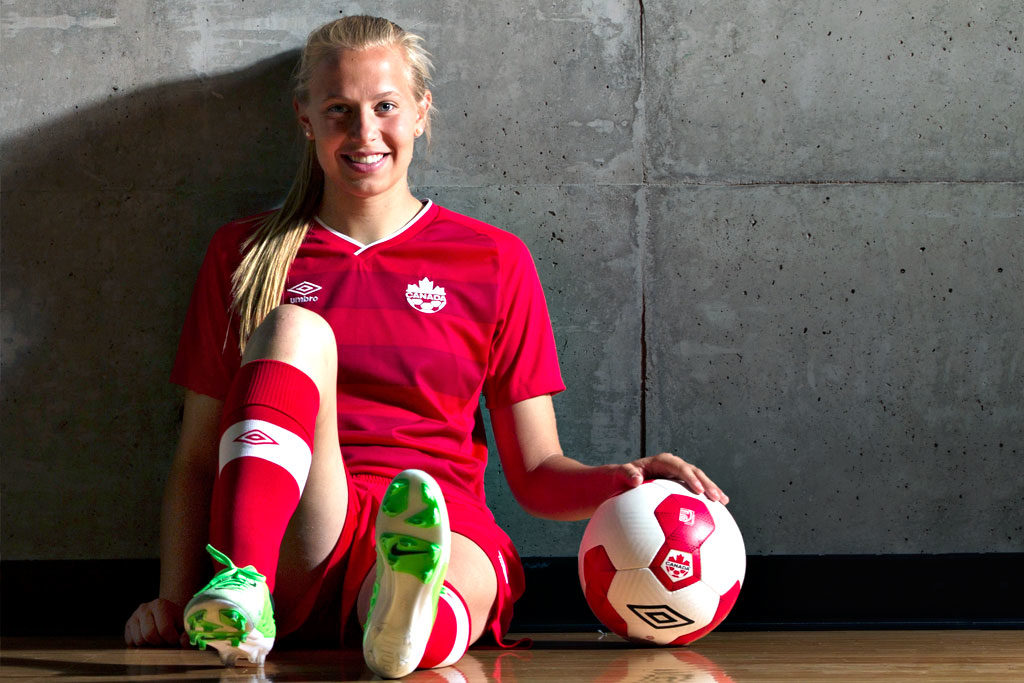 Olympics soccer star Quinn