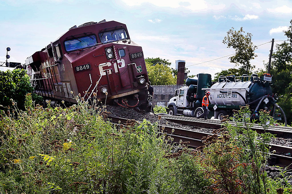What do two derailments a year apart mean for development