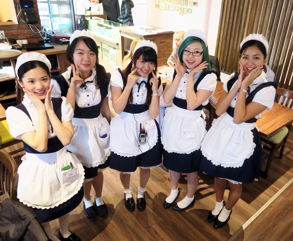 Is Toronto's New Maid Café Offensive?