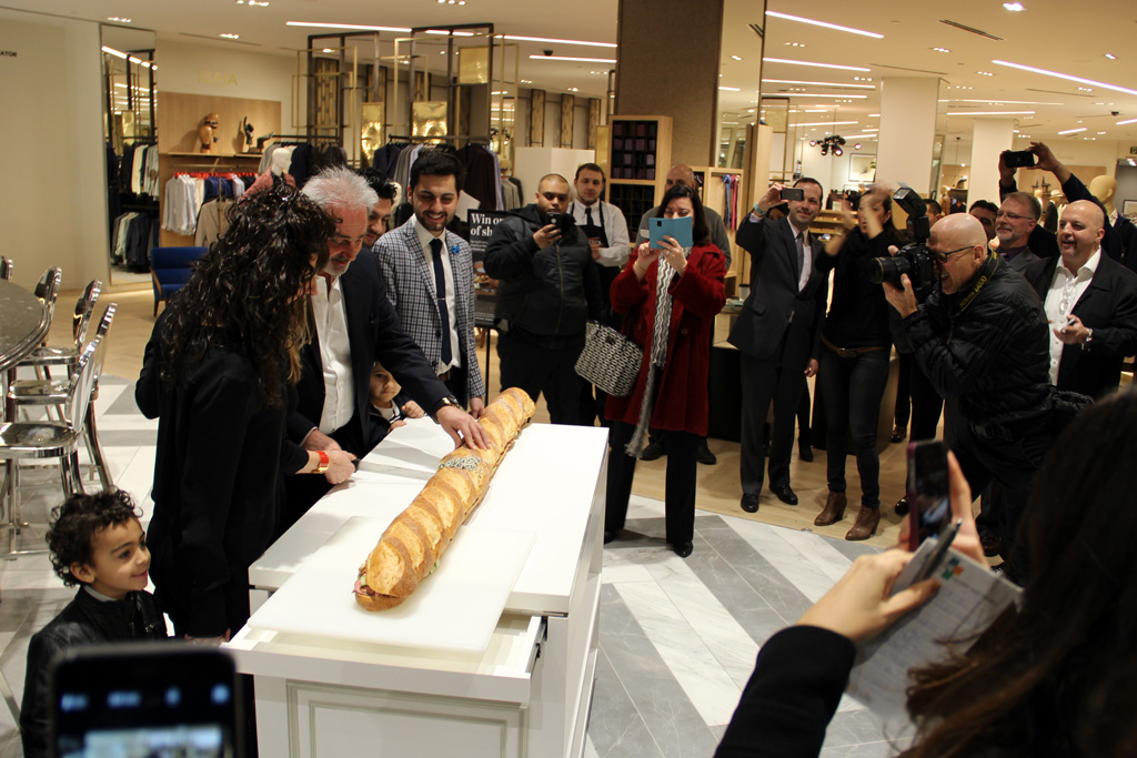 Saks Food Hall By Pusateri's Opens At Sherway Gardens