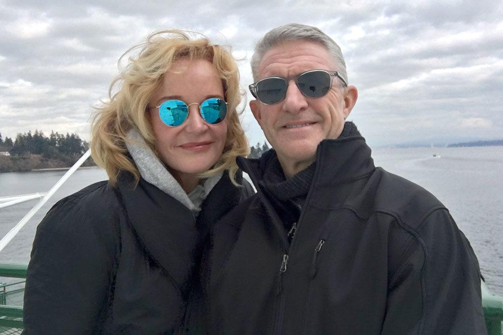 Marilyn Denis and Jim Helman