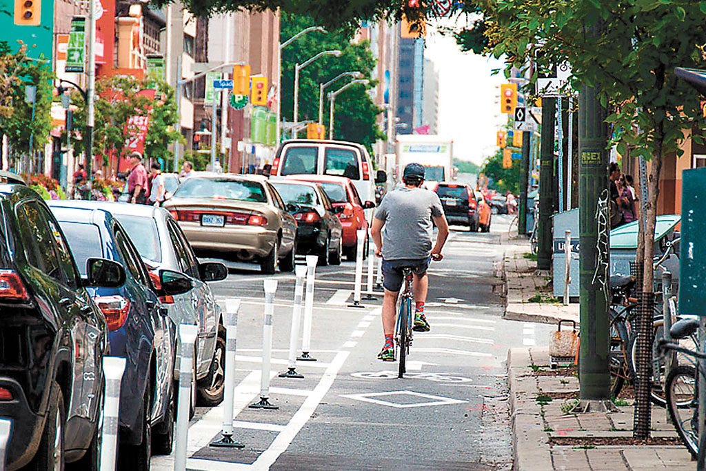 North York bike lanes