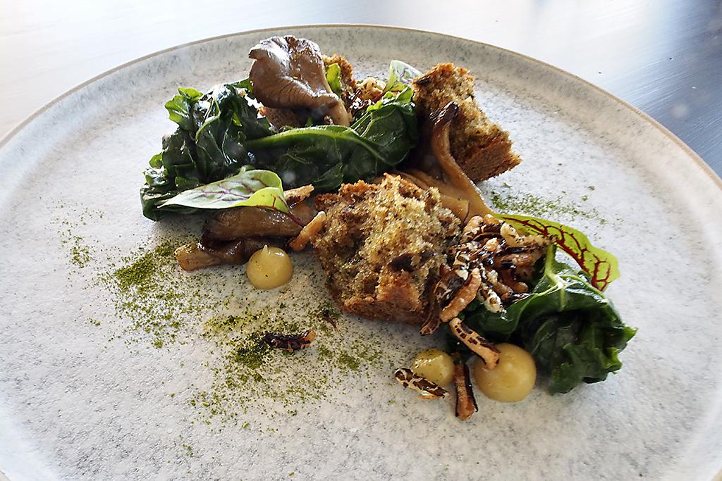faim de loup mushroom dish