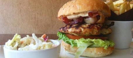 abbot on eglinton- chicken burger