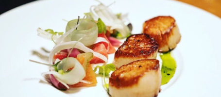 core restaurant- scallops