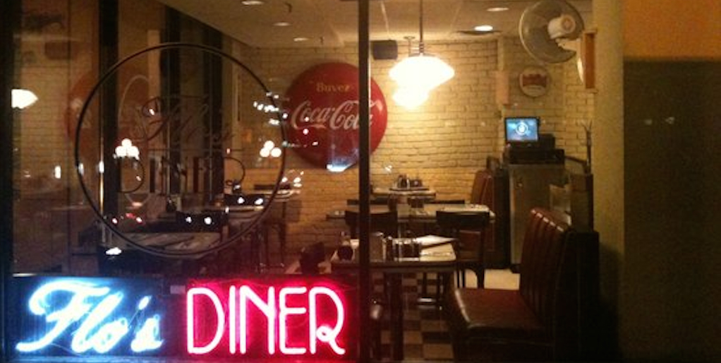 flo's diner- exterior