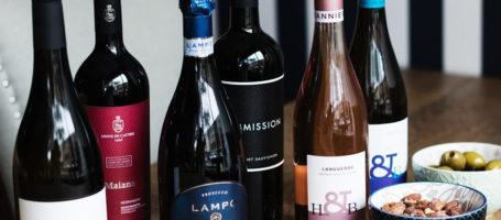 miss pippas- wine bottles