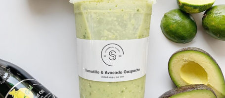 summerhill market- green gazpacho