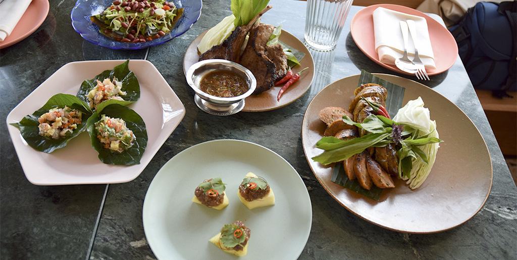 Favorites Thai BBQ - 5 dishes