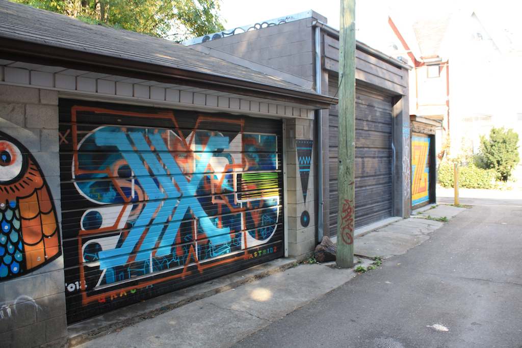 Ossington street art