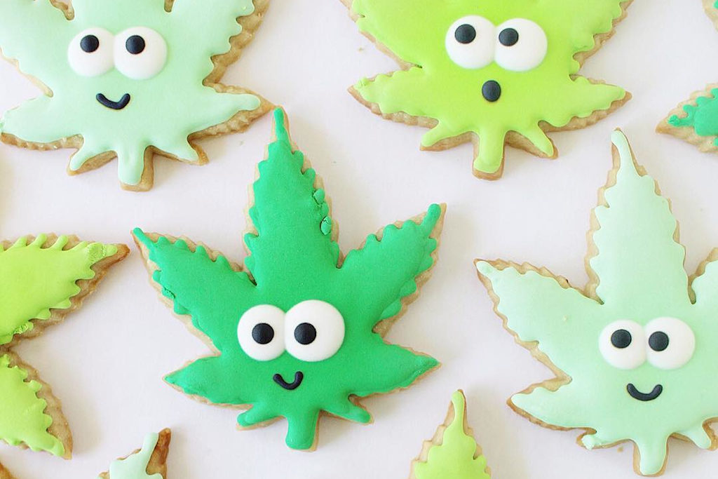 Cannabis edible cookie