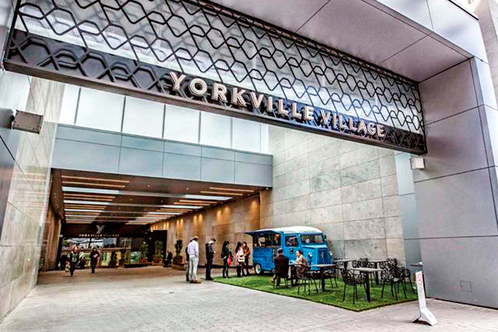 Yorkville Village malls reopen
