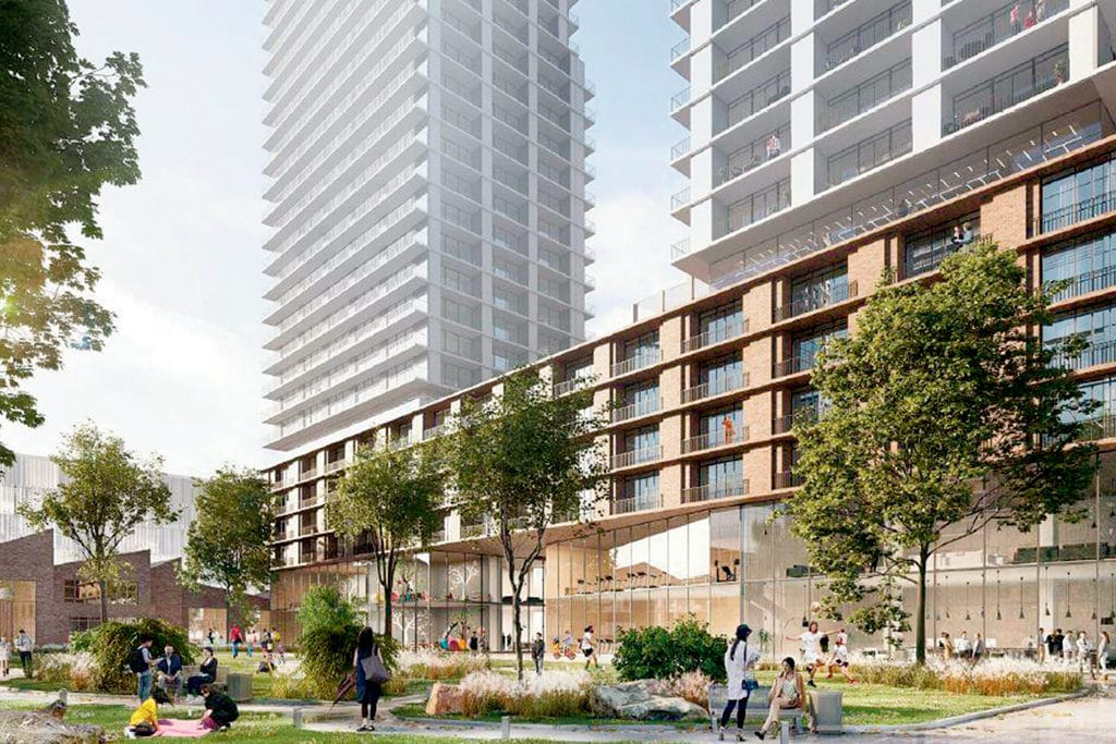 Leaside development
