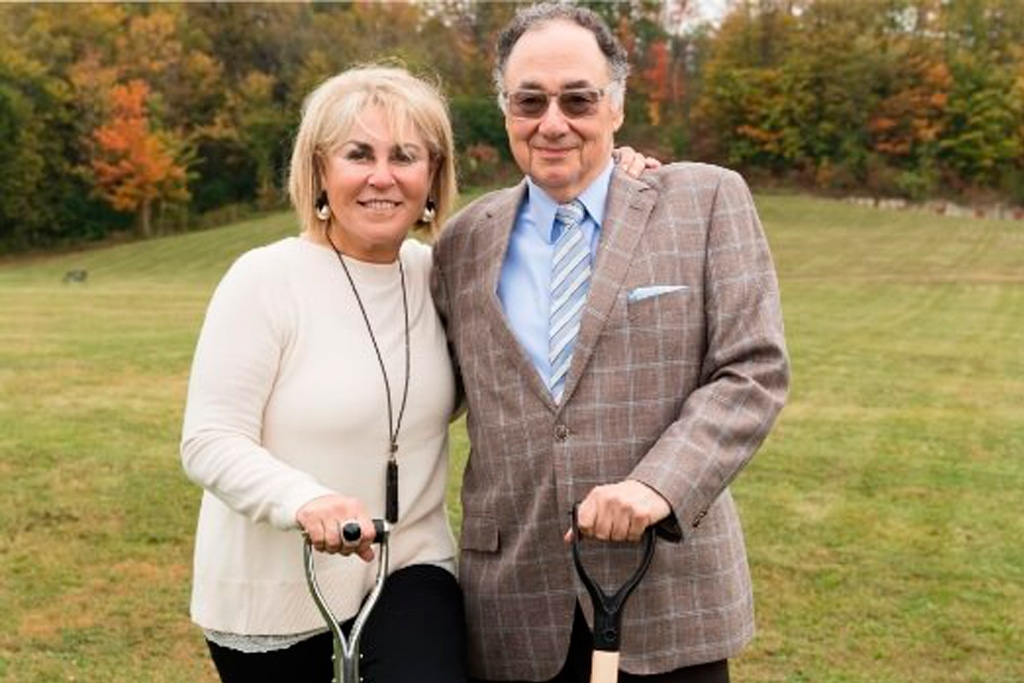 Honey and Barry Sherman