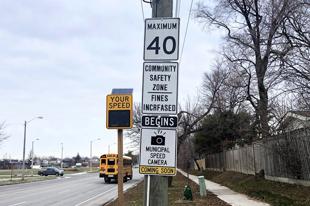 speed enforcement cameras