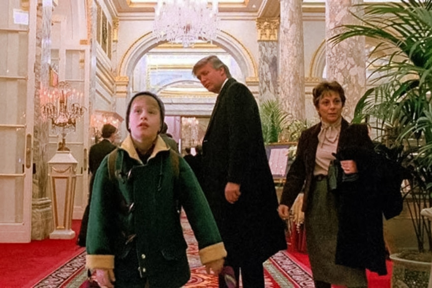 Trump trolls Trudeau for removal on Home Alone 2
