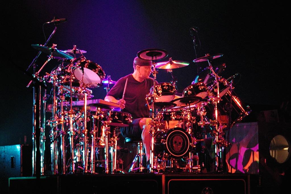 Neil Peart drummer of Rush