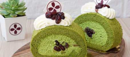 matcha-roll-red-bean