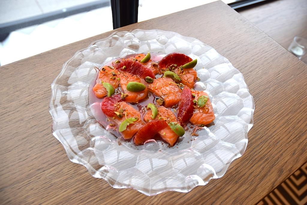 Bar Biltmore-salmon-crudo