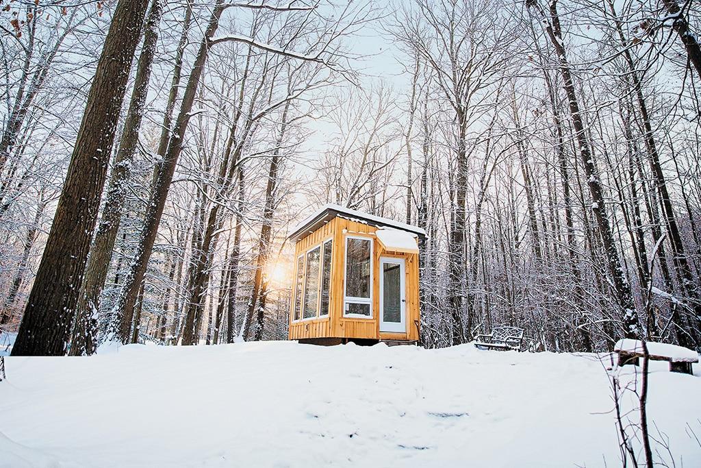 fernwood hills winter cabins