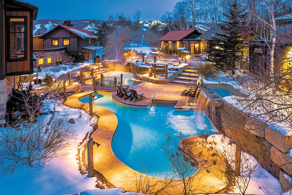 scandinave winter spa