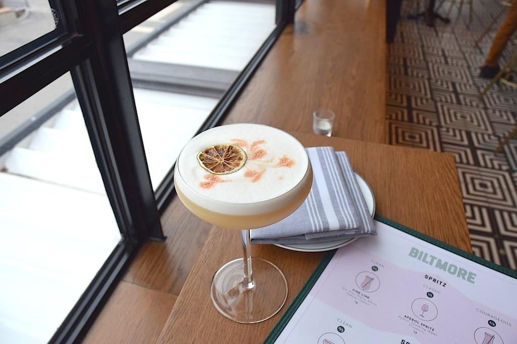 Bar Biltmore-whiskey sour