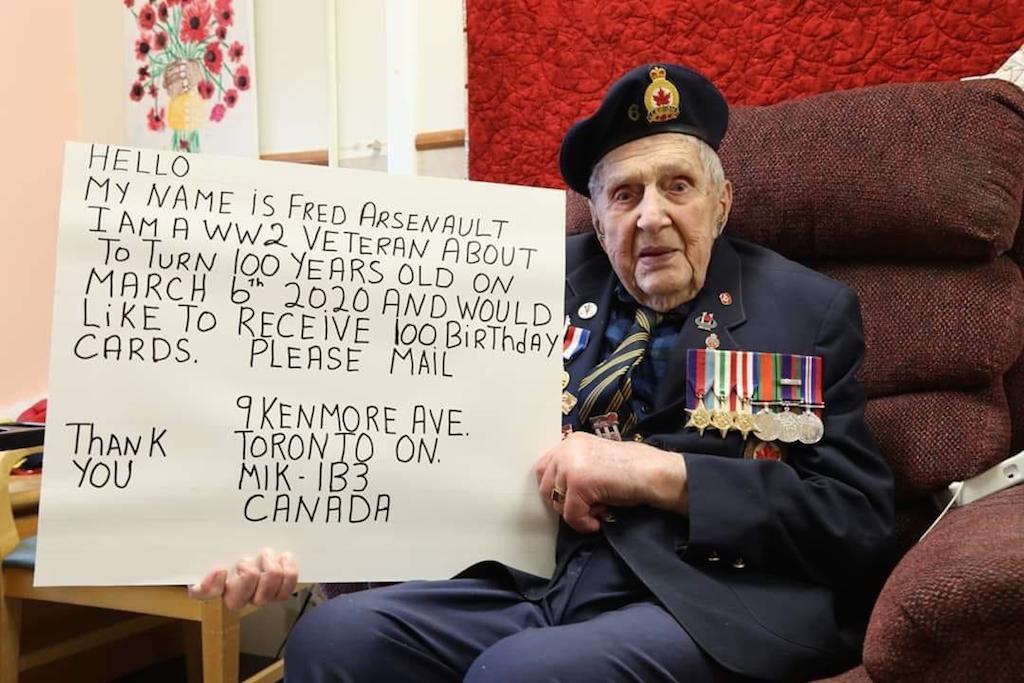 Canadian veteran Arsenault