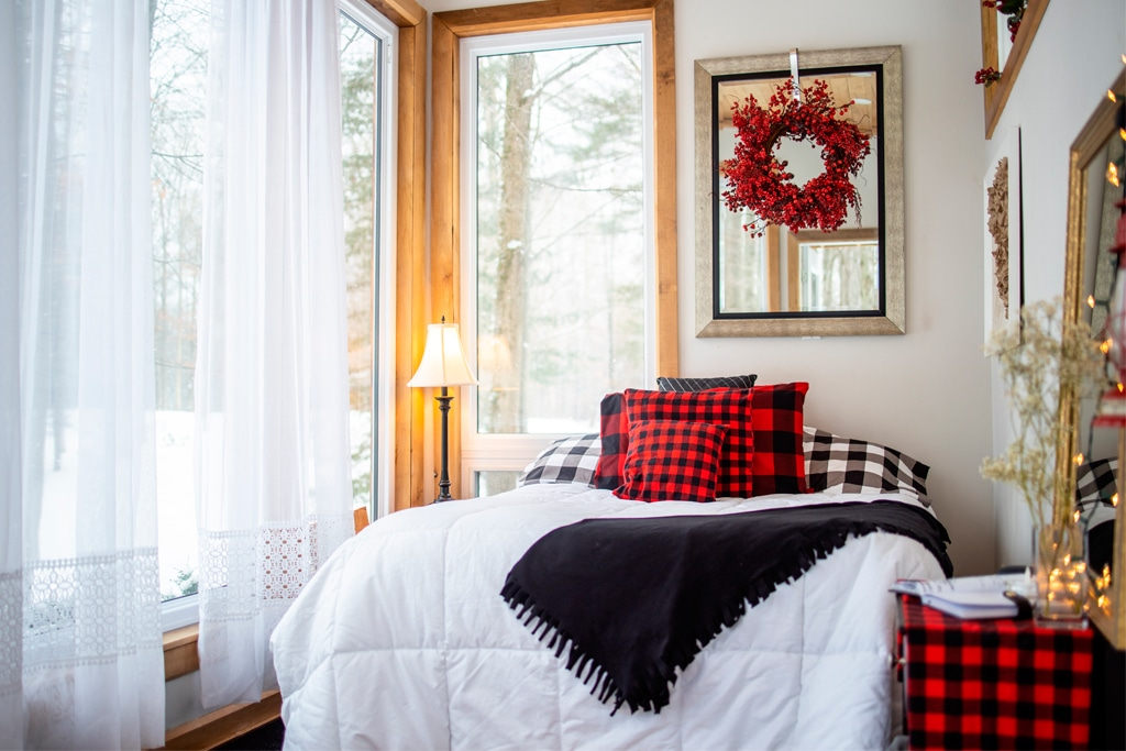 fernwood hills winter cabin