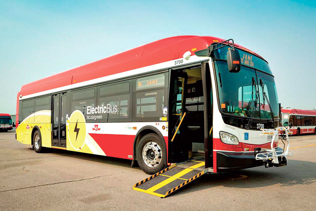 electric e-bus
