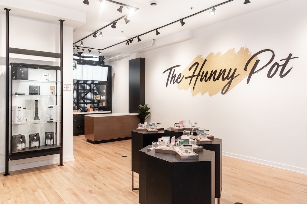 Hunny Pot Cannabis store interior