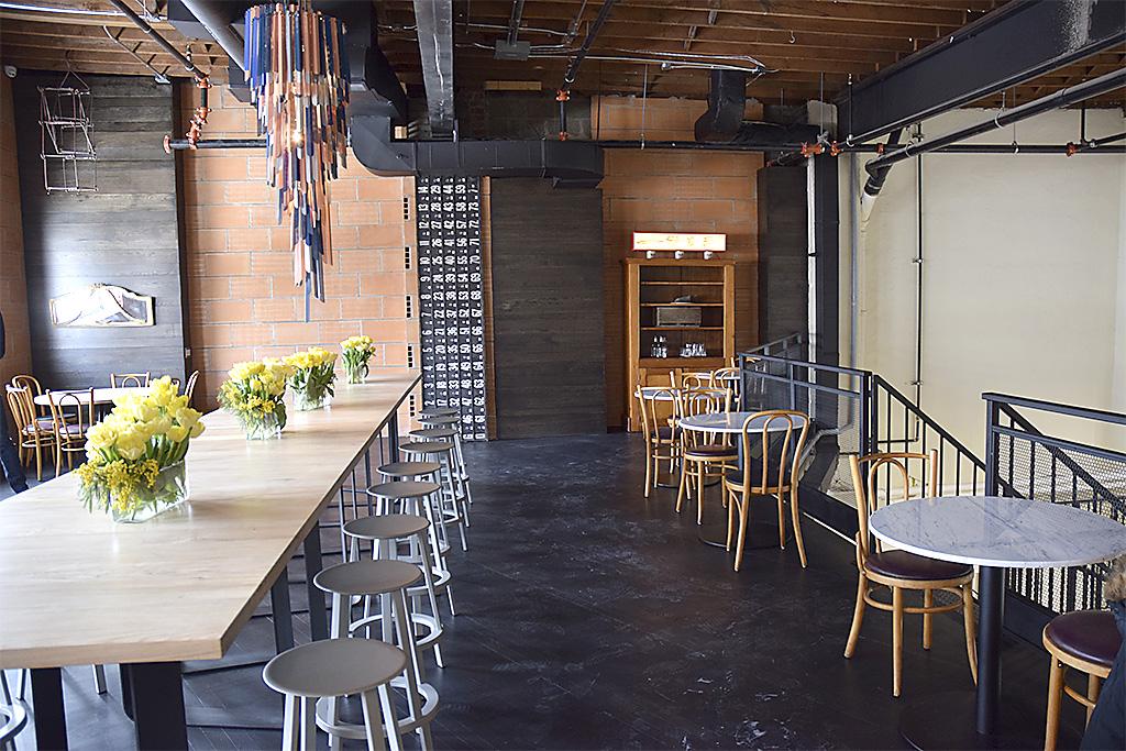 Spaccio Toronto-upstairs-dining