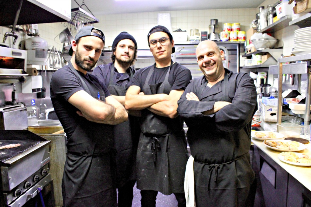AMA restaurant kitchen team