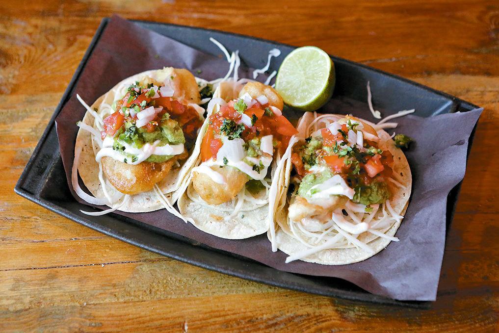 Tacos at Playa Cabana