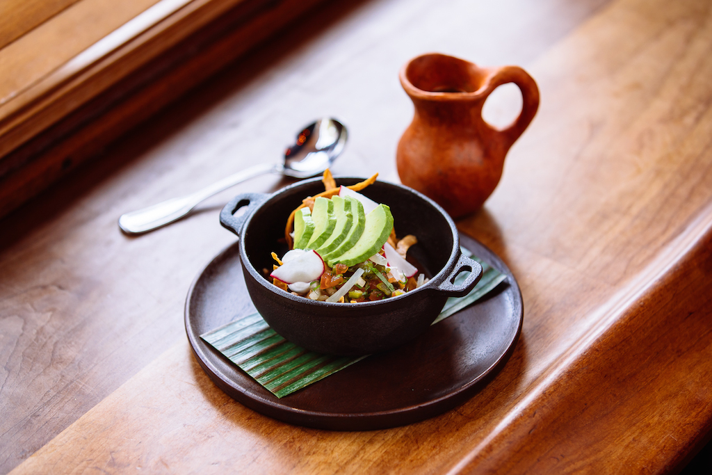 El Rey's tortilla soup