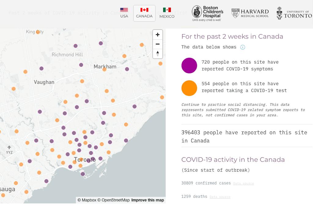 coronavirus Toronto