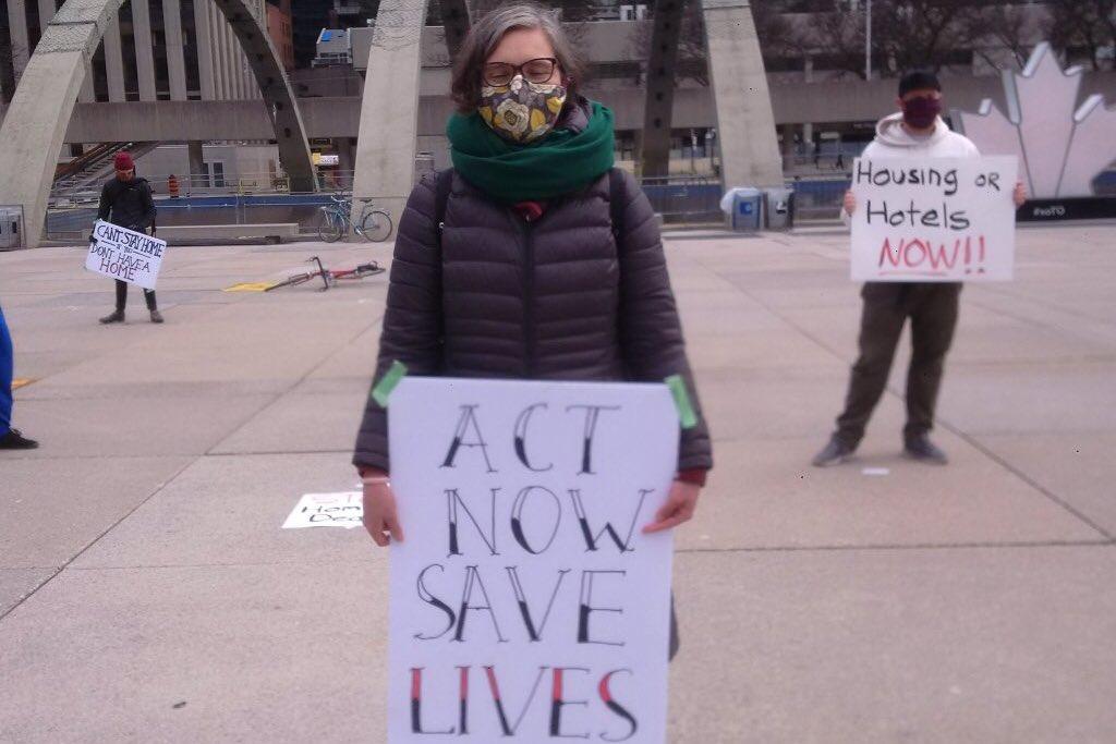 OCAP protest