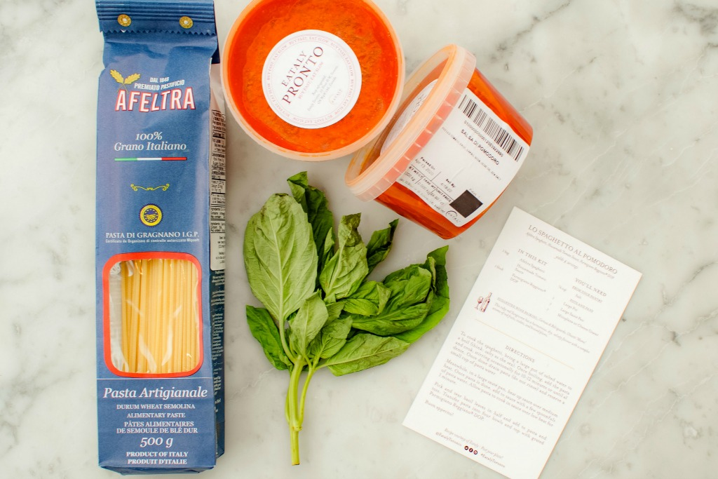 Eataly meal kit