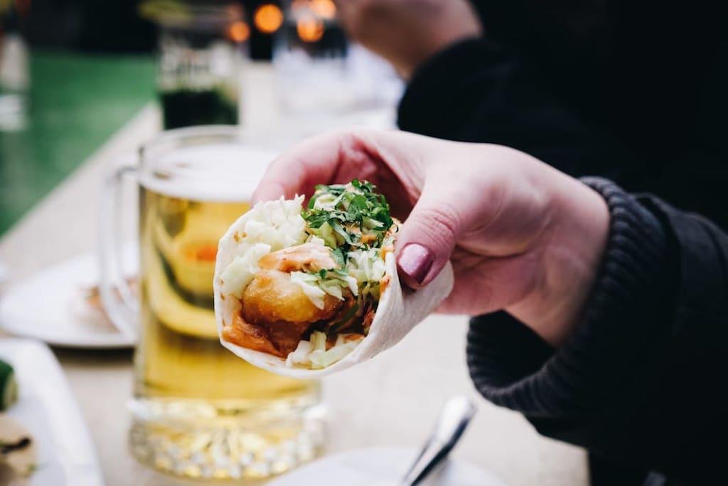 How to make El Catrin's famous Baja fish tacos