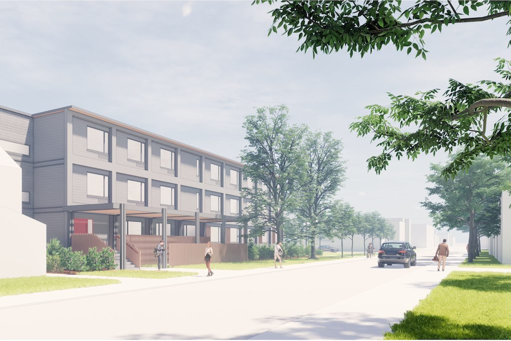 Harrison Street modular housing