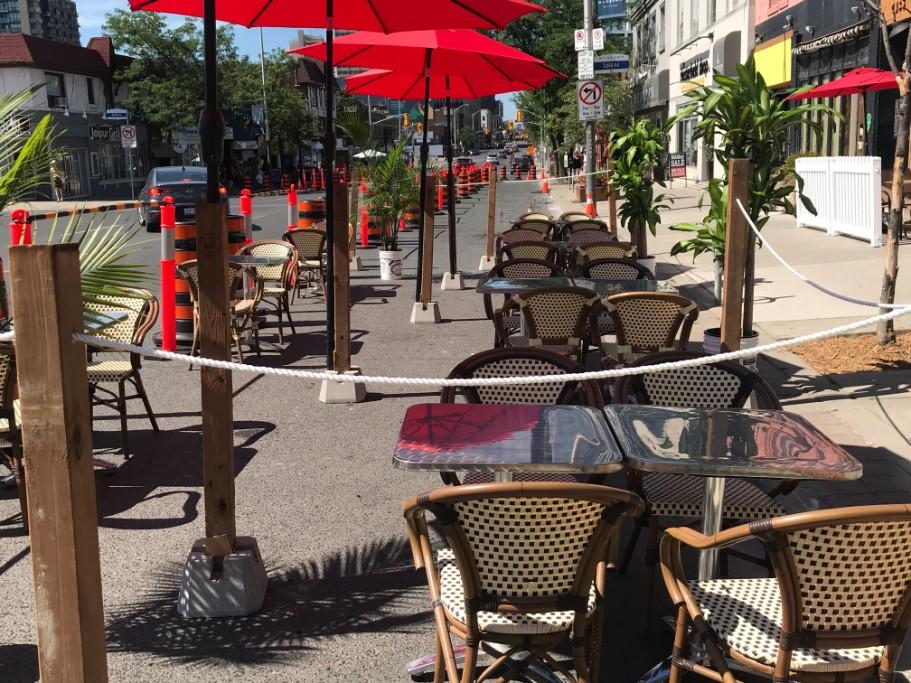 CaféTO Toronto patio