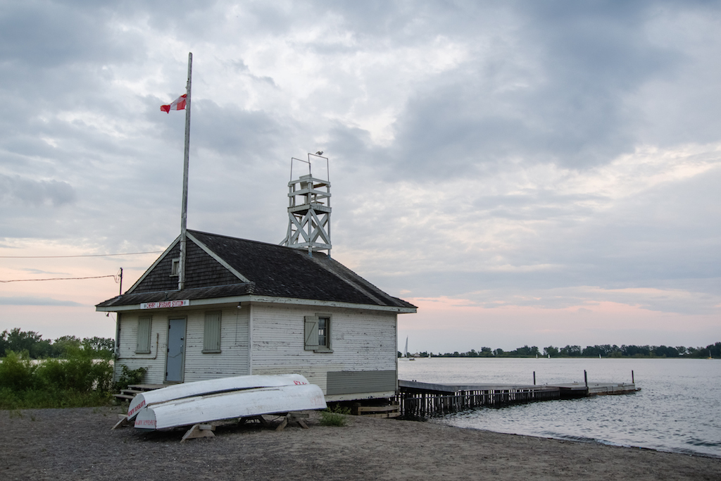 New parking restrictions at Cherry Beach