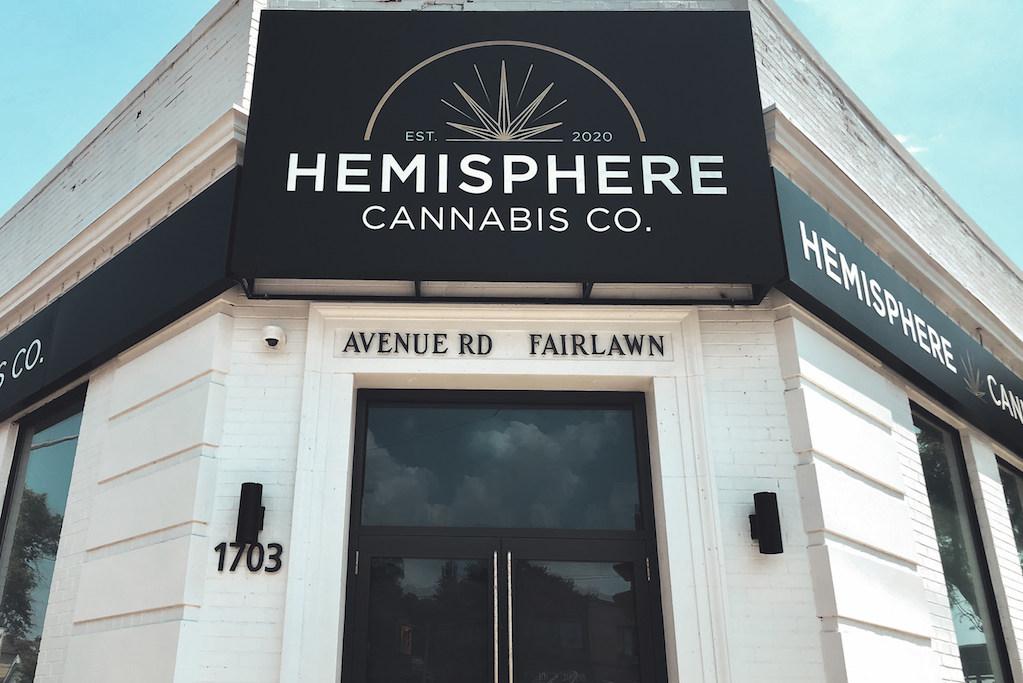 Hemisphere cannabis in Toronto
