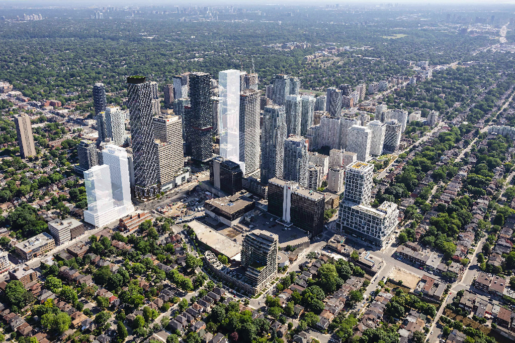 Yonge and Eglinton development