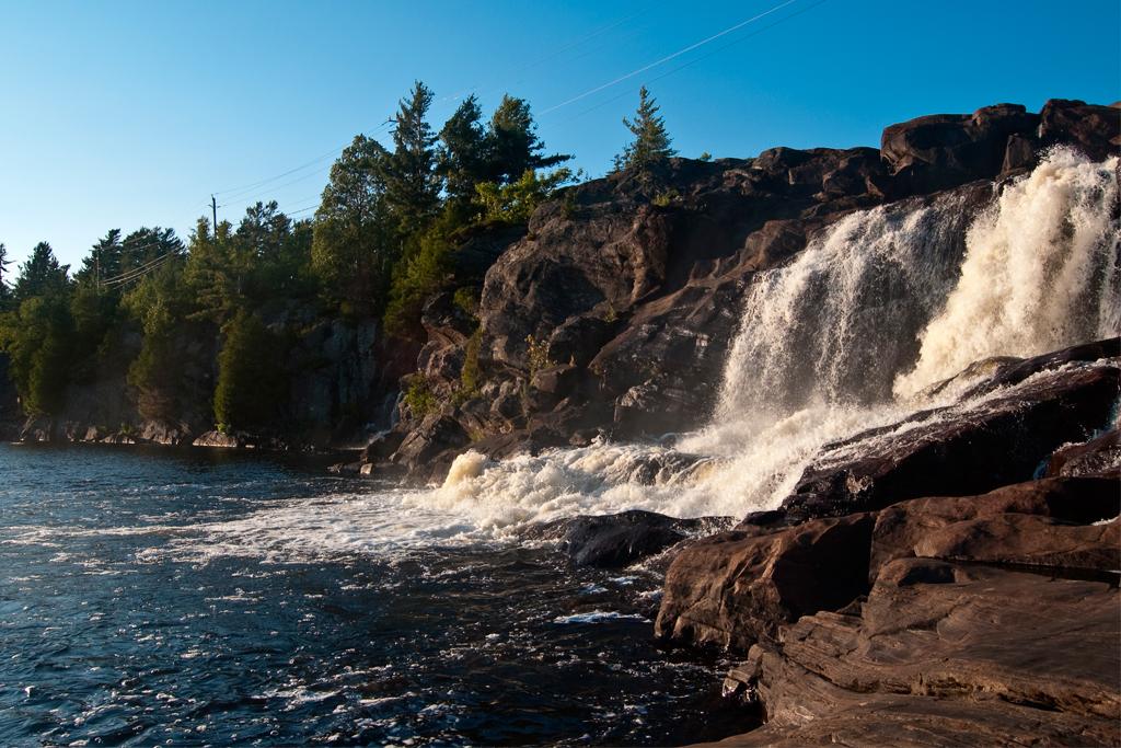 Muskoka waterfalls