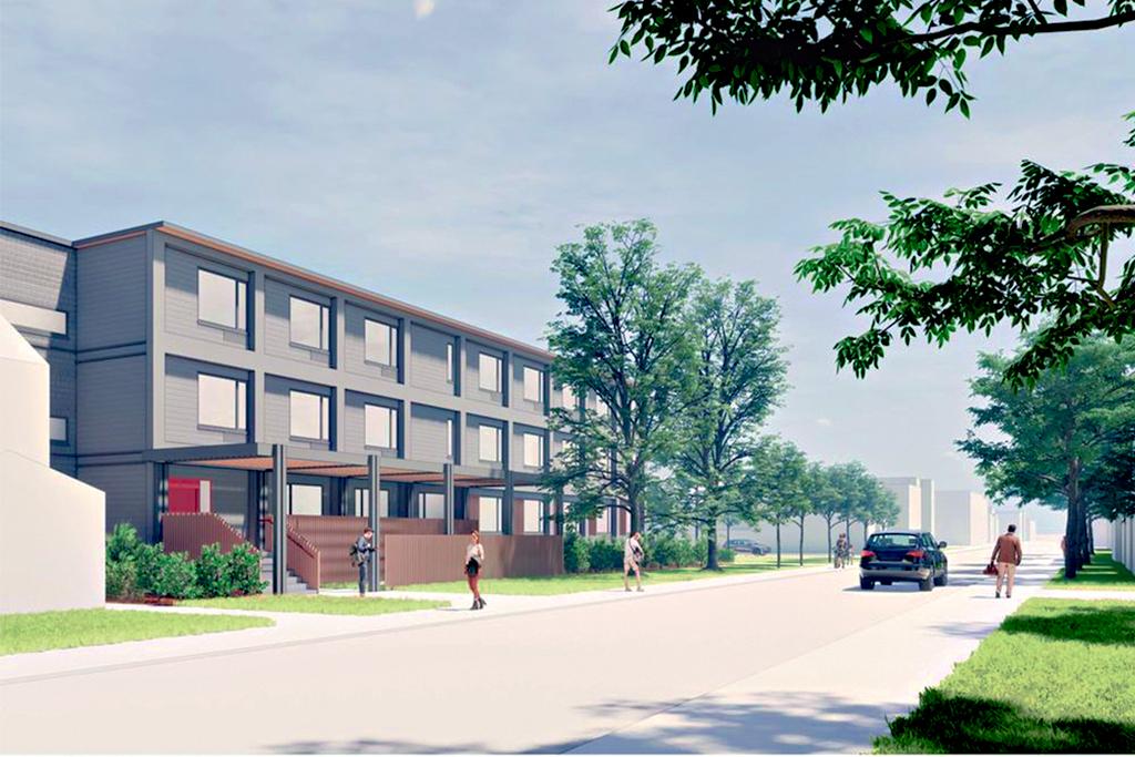 Modular housing plan in Toronto