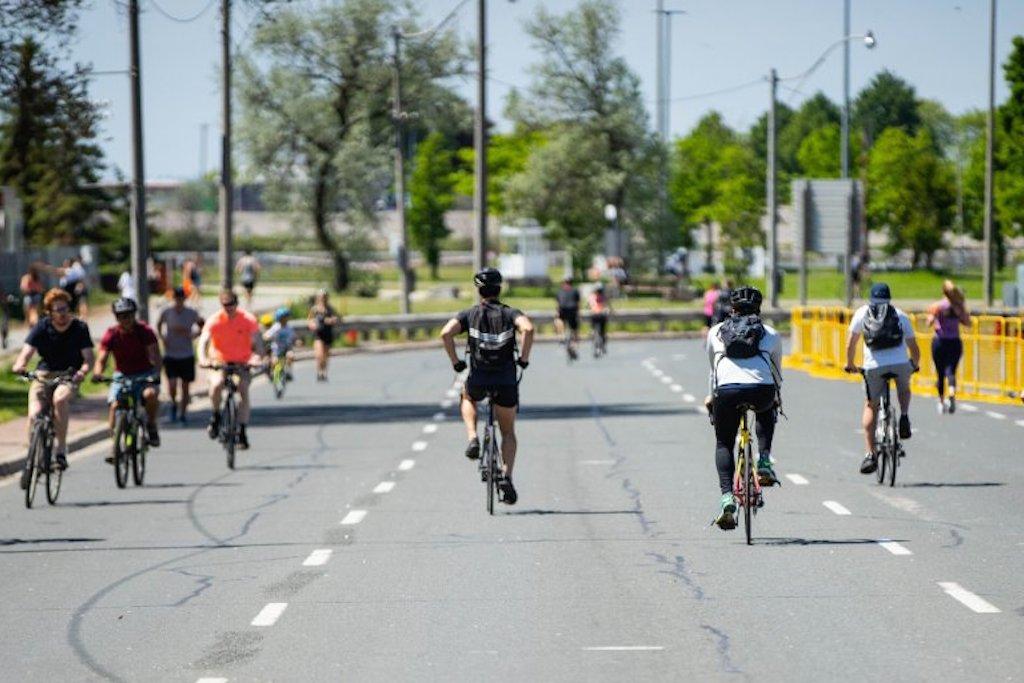 ActiveTO streets in Toronto