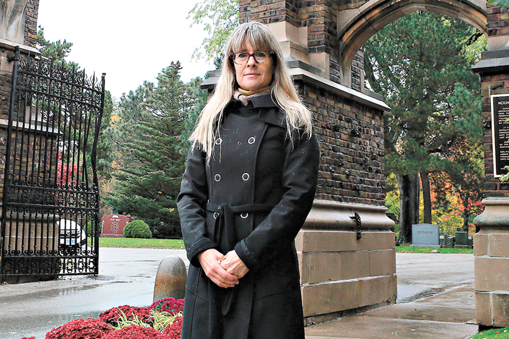 Mount Pleasant Cemetery advocate Margot Boyd